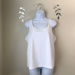 Chico's White Cami Size 3 ( XL) Adjustable Straps
